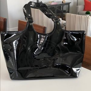 Tory Burch Patent Leather Tote